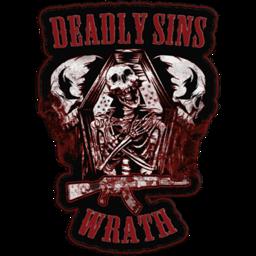 Deadly Sins MC Wrath emblem
